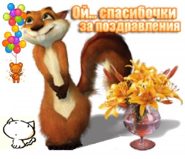 Статус ответ на поздравления с днем рождения