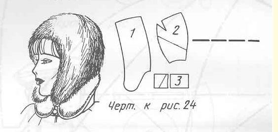 Выкройка женской шапки из меха своими руками