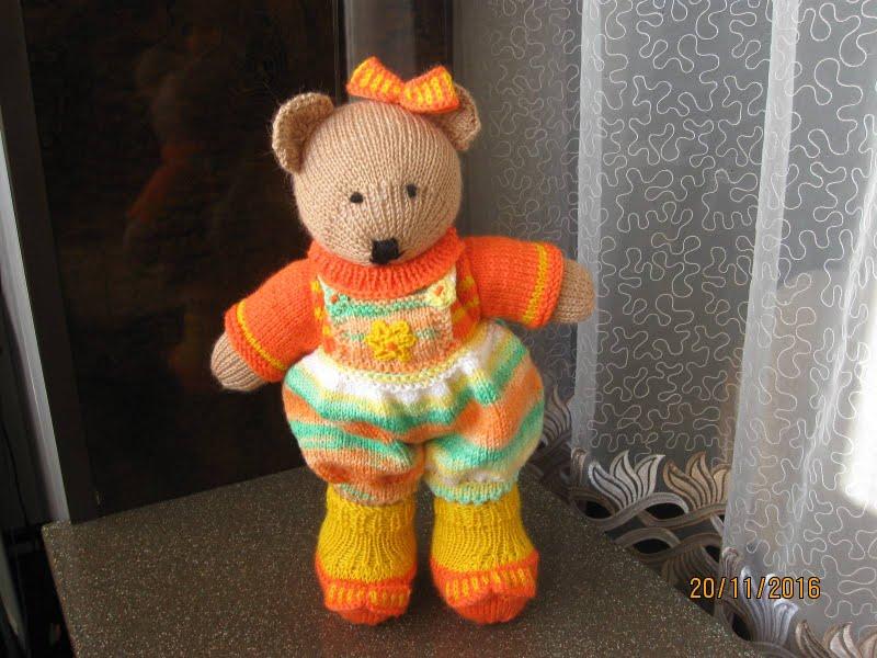 Ушастый дрЮг от Сьюзан Хиксон (игрушка спицами)