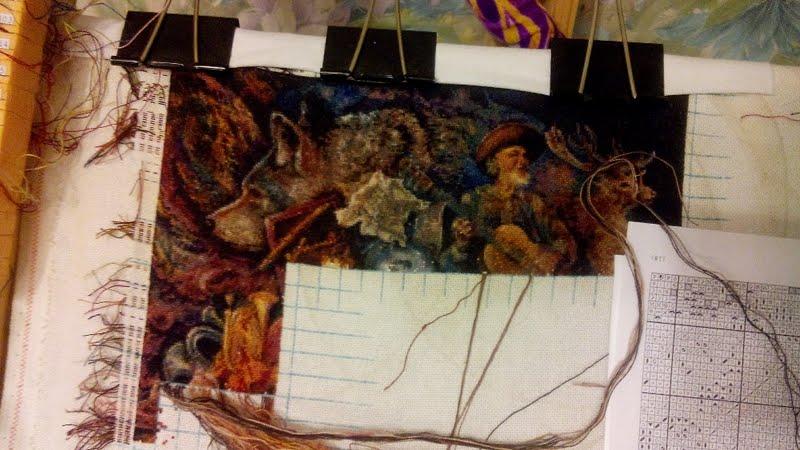 ХАЕД-процессы вышивки - 2