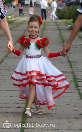 Платье на выпускной в дет сад