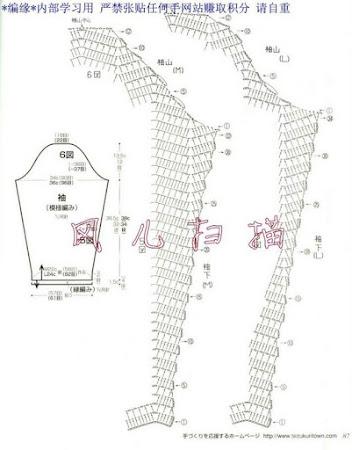 Схемы вязание теплых кардиганов