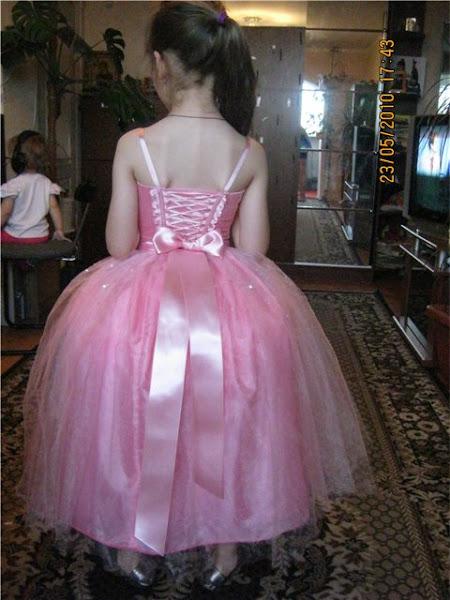 Как сшить платье для девочки на выпускной в детском саду