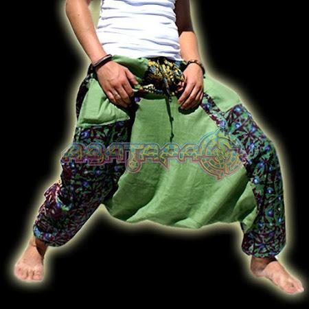 Как сделать штаны алладины