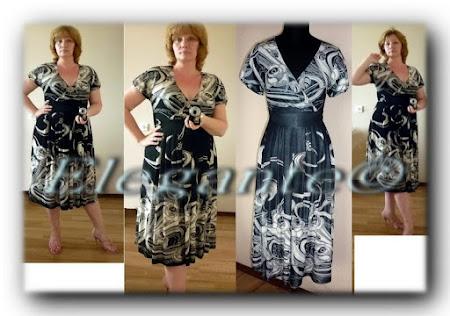 Платья для полных из купонной ткани