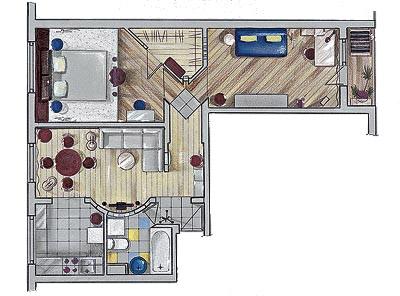 Дизайн квартир серия 2