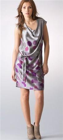 Как сшить платье из атласа-стрейч