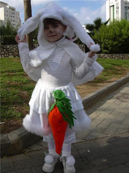 Как сделать костюм заяц