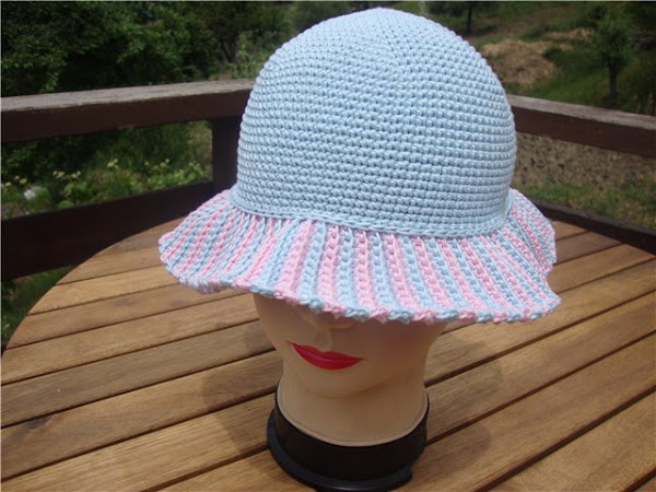 """钩针教程:帽子""""奇迹"""" - maomao - 我随心动"""