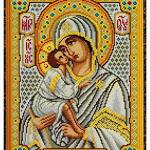 """Схемы для вышивания крестом форм.  А3 СК 24  """"Икона Божией Матери Донская """". в наличии.  Интернет-магазин."""