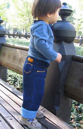 Вяжем джинсы, модно и практично - 1000 и одна идея!