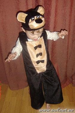 Новогодние костюм мишки своими руками - Новогодние костюмы для детей своими руками Праздники