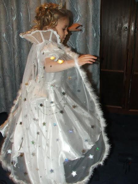 Сшить платье снежная королева