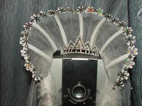 Воротник королевы своими руками фото