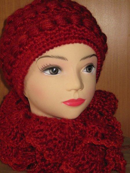 Осинка вязание шапки.