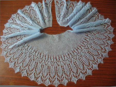 Вяжем мини-шальки-шарфики