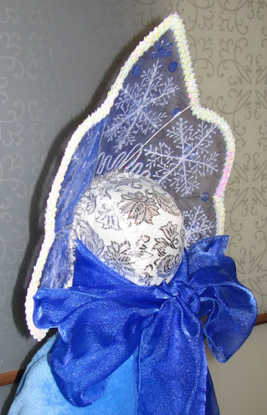 Новогодний кокошник для девочки своими руками