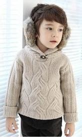 Азия форева - свитер с косами