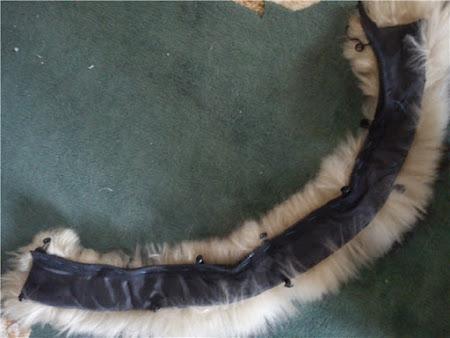 Как сделать опушку на капюшон из меха
