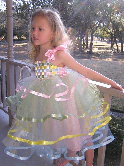 Платье фото для девочек своими руками