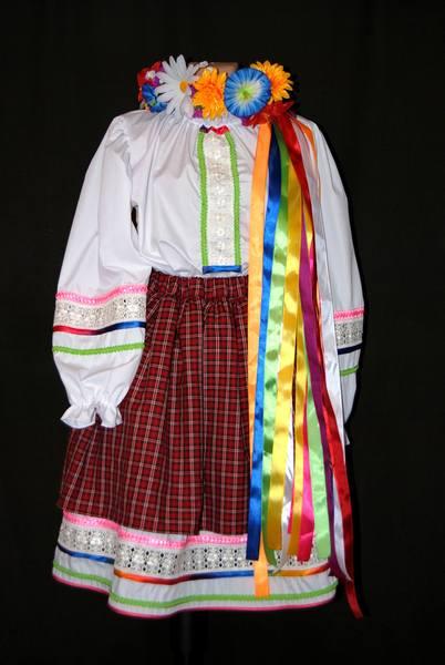 Как сшить украинский костюм