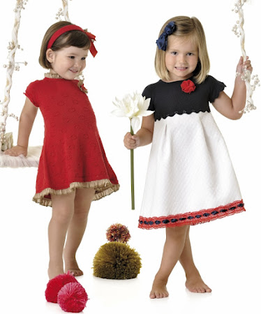 Фото стильного платья для девочек