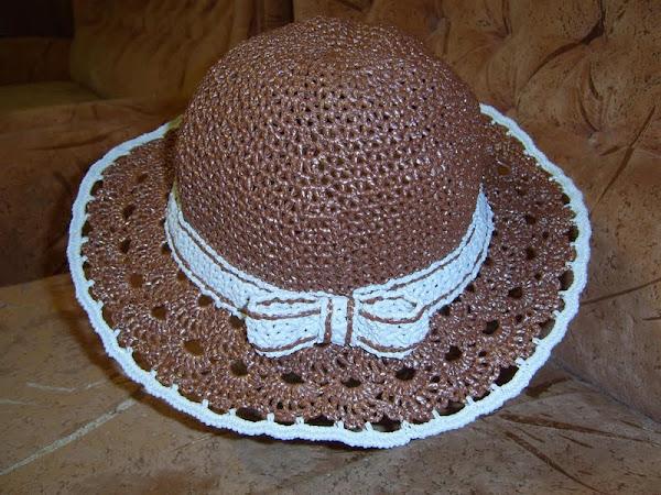 Шляпа из пакетов своими руками