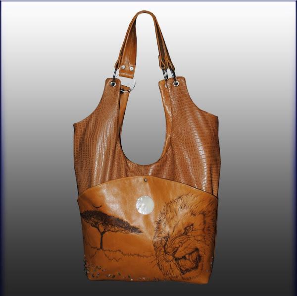 Кожанные сумки мастер класс