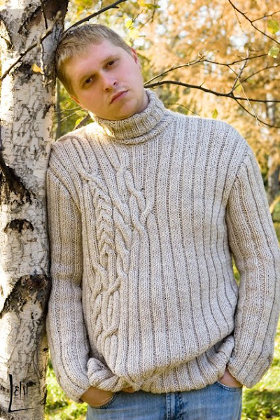 Связать свитер своими руками фото