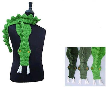 Крокодиловый шарфик