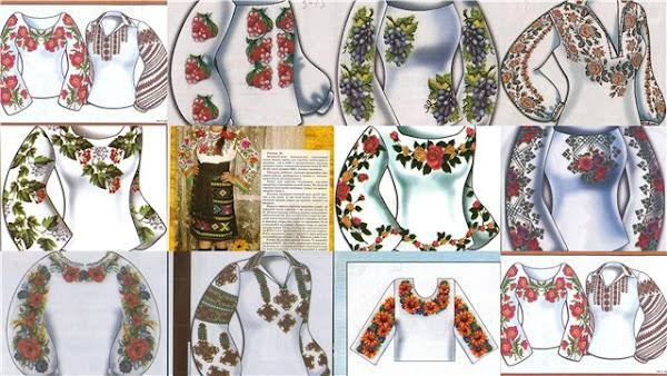 Схемы вышивки крестом, вышивка