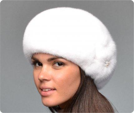 Как сделать из норковой шапки берет