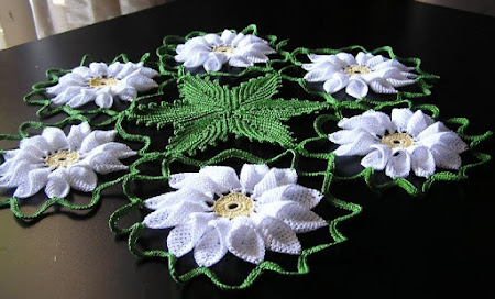 Салфетки с Цветами