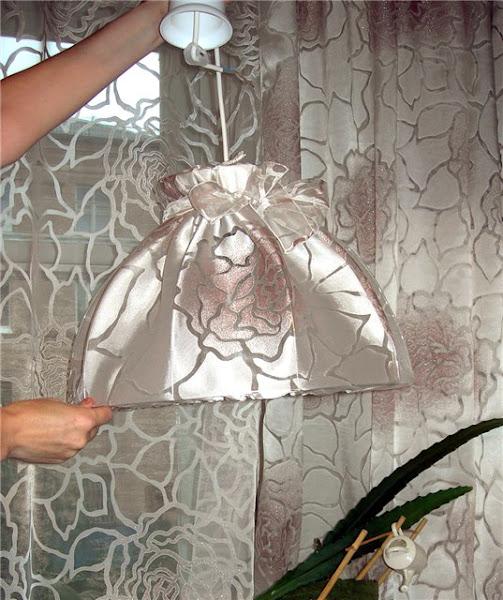 Как декорировать торшер