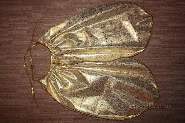 Как сделать крылья мухи цокотухи видео