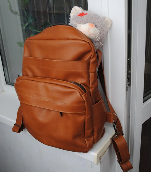 Пошить рюкзак из кожи