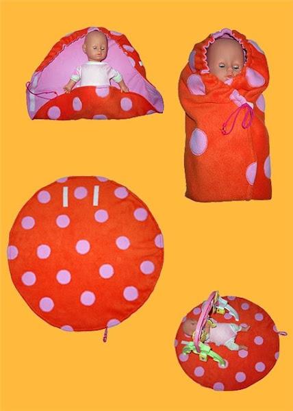 Как сшить конверт для куклы беби бон своими руками