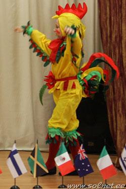 Новогодние костюмы петушка своими руками фото