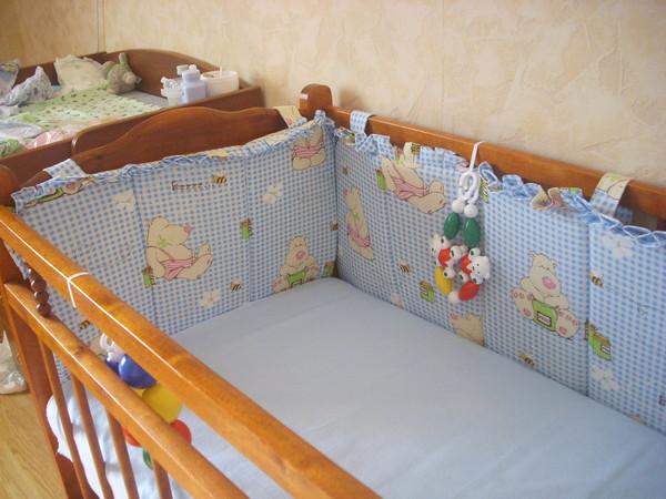 Бортики в кроватку своими руками выкройки фото