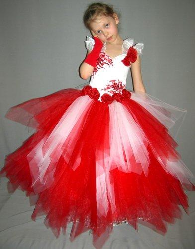 Платье для ребенка из фатина