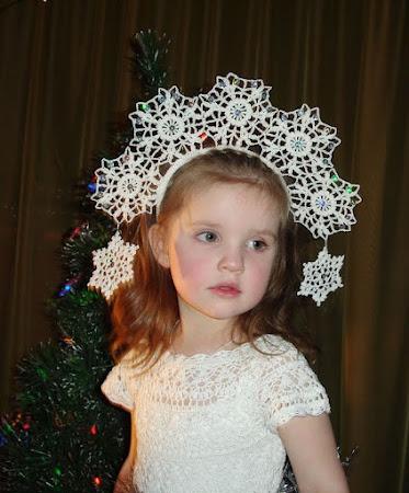 Новогодний головной убор для девочки