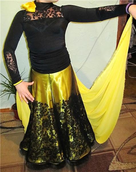 Как сделать шлейф на платье