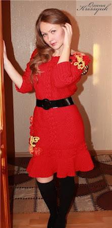 Платье от  А.McQueen