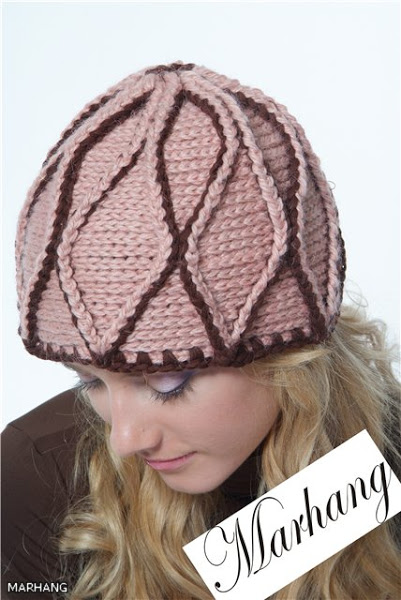 crochet cable hat for men and women