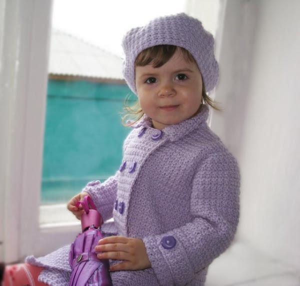 Пальто, куртки вязаные Вязание для детей спицами и крючком. единый справочн