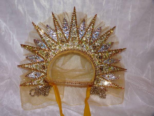 Как сделать корону солнце