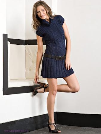 Будь стильной. Кокетливое платье Be Style!