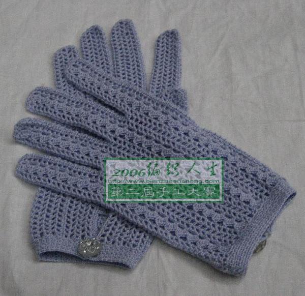 Вязание крючком перчатки с пальцами