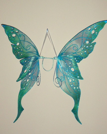 Крылья феи своими руками фото