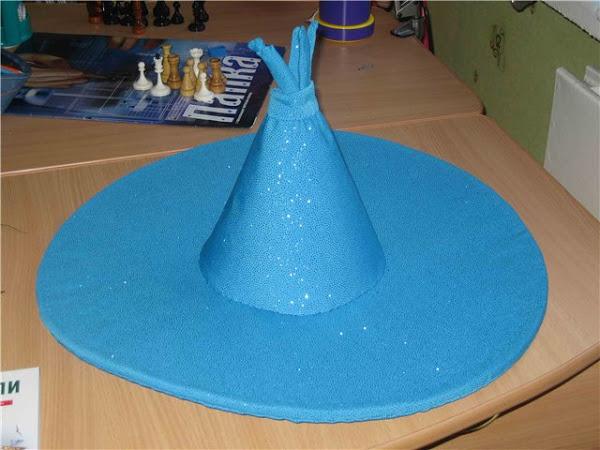 Как сделать из бумаги шапку волшебника